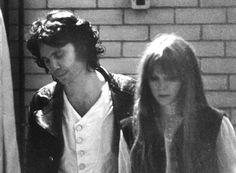 Jim Morrison and Pam Courson {1967}