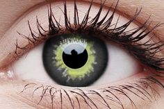 Eclipse Crazy Contact Lens in Eye