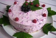 Mustaherukka-vadelmarahkakakku Flora, Pudding, Cake, Desserts, Tailgate Desserts, Deserts, Custard Pudding, Kuchen, Plants