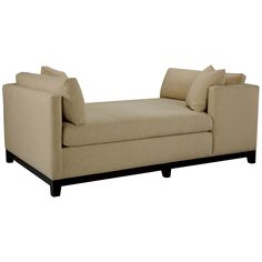 double chaise, modern, many fabric choices, mbr