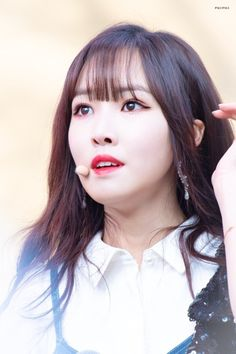 Image may contain: 1 person, selfie and closeup Kpop Girl Groups, Korean Girl Groups, Kpop Girls, Bubblegum Pop, Gfriend Profile, Gfriend Yuju, Kim Ye Won, Cloud Dancer, Fandom