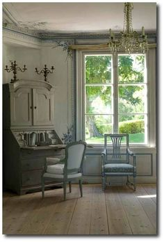 Contemporary Small Apartment with Swedish Style Interior Design - Home Decor & Design Ideas. Swedish Interior Design, Swedish Interiors, French Interior, Home Interior, Interior Decorating, Swedish Cottage, Swedish Decor, Swedish Style, Swedish House
