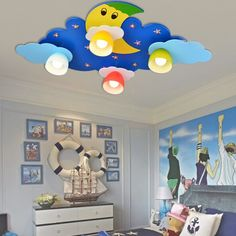 Lighting comfort in the childrens room childrens room lighting kids room lighting for 55 ceiling light lights rooms myualacom ideas 13 ZBHCDSJ