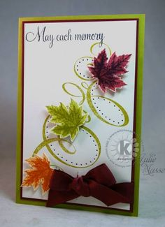 Bold Leafy Swashes by jmasse - Cards and Paper Crafts at Splitcoaststampers