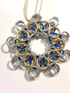 Chainmail Ornament Snowflake