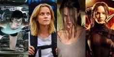 Sete filmes com MULHERES fortes - vem ver
