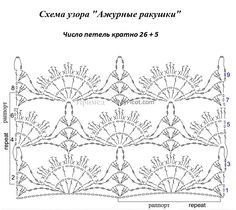 В копилку: ажурные ракушки крючком. Обсуждение на LiveInternet - Российский Сервис Онлайн-Дневников