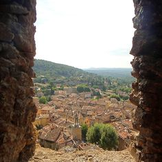 Cotignac, France by Fiona Therese Portal, Pathways, Grand Canyon, Art Photography, France, Places, Nature, Travel, World