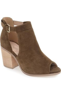 Sole Society 'Ferris' Open Toe Bootie (Women) available at #Nordstrom