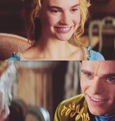 So this is love... <3 Cinderella Pictures, Cinderella Prince, Cinderella Movie, Cinderella And Prince Charming, Cinderella 2015, Walt Disney, Disney Magic, Der Computer, Have Courage And Be Kind
