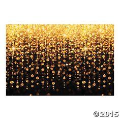 Celebration Lights Backdrop Banner Oriental Trading $16.00