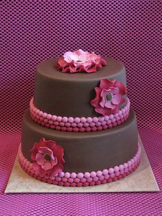 gorgeous cake, love the colours!