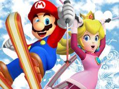 Winter! Super Mario Bros, Super Mario Brothers, Peach Mario, Mario And Princess Peach, Scooby Doo Toys, Mario Coloring Pages, Princesa Peach, Mundo Dos Games, Paper Mario