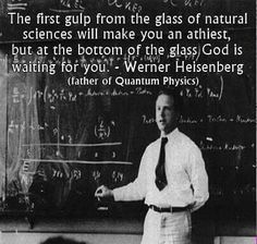 Werner Heisenberg, father of quantum physics - . - Werner Heisenberg, father of quantum physics – We - Wise Quotes, Quotable Quotes, Great Quotes, Quotes To Live By, Inspirational Quotes, Drake Quotes, Quotes Pics, The Words, Cool Words
