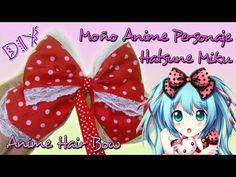 Mariu Belo: DIY Moño Anime Hatsune Miku