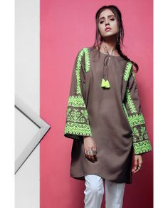 e5f1ae17d85c EGO Winter Ladies Kurta Designs Collection 2018-19 Trends