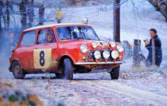 1965 .. RAC Rally  .. Hopkirk / Liddon .. EBL 56 C .. 13th o/a , 2nd in class .   | WRC Rally School @ http://www.globalracingschools.com