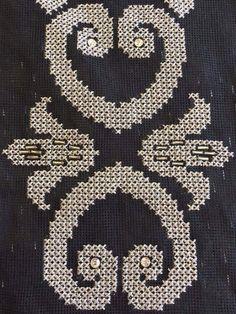 Ρανερ Cross Stitch Borders, Loom Beading, Beaded Embroidery, Tapestry, Kids Rugs, Crochet, Knitting, Canvas, Pattern