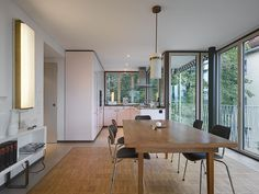 Style At Home, Yongin, Arch Interior, Dining Room, Dining Table, Home And Family, House Styles, Kitchen, Furniture