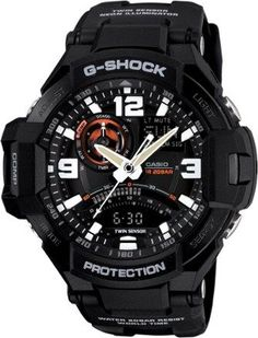 Casio G-Shock Gravity Master Multifunction Watch Black