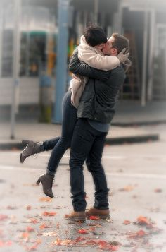 once upon a time you know u met your Prince Charming when he Lifts you up like ur weightless