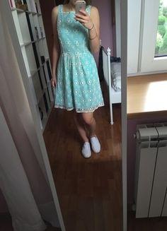 Kup mój przedmiot na #vintedpl http://www.vinted.pl/damska-odziez/krotkie-sukienki/10282744-nowa-sukienka-mietowa-jennifer-lopez