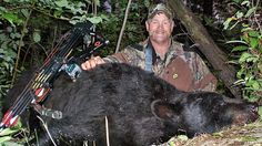 "Larry Woodward, co-host of ""Outdoors in the Heartland"" and ""ScentBlocker Most Wanted"" on Outdoor Channel chased a bear into a tree! 