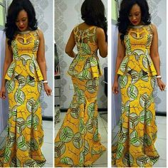 The Gbemisola African print dress African maxi dress Ankara maxi dress african clothing tribal prints african skirt prom dress USD) by FashAfrique Ankara Skirt And Blouse, African Maxi Dresses, African Dresses For Women, African Attire, African Wear, African Women, Ankara Dress, African Skirt, African Outfits