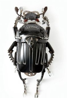 Insect - can't help myself  Steampunk animals