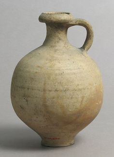 Jug Date: 15th century Culture: French Medium: Earthenware Dimensions: Overall: 7 1/2 x 5 3/16 in. (19 x 13.1 cm) Classification: Ceramics Credit Line: Gift of J. Pierpont Morgan, 1917 Accession Number: 17.194.2194