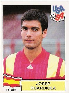 Descubrimiento: Guardiola jugó su primer mundial con 14 años.