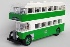 LEGO AEC Regent III Lisbon Bus by Joao Campos