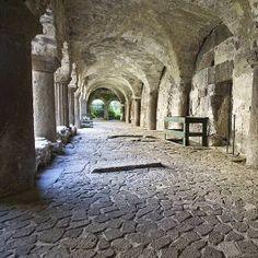 Italy  - Sicily  - LIPARI ISLAND  - IL CHIOSTRO NORMANNO