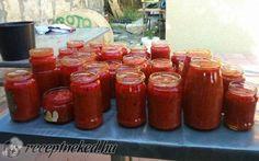 Babos zakuszka recept fotóval Cooking Recipes, Jar, Food, Meal, Essen, Summer, Chef Recipes, Meals, Eten