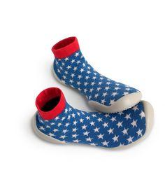 Slipper Socks Magic America - American flag