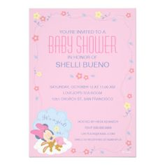Baby Minnie Mouse Baby Shower Cards