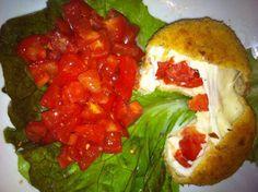 "La Tavernetta Sicula: Mozzarella ""scomposta"" #arancina #suppli #latavernettasicula"