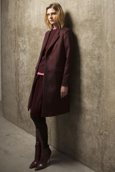 Pringle of Scotland Pre-Fall 2014 - Mary Crawley colors for the 21st century