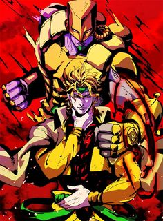 Dio Brando y The World (JoJo's Bizarre Adventure Part. Jojo Bizarre, Bizarre Art, Jojo's Bizarre Adventure Anime, Jojo Bizzare Adventure, Manga Anime, Anime Art, Aesthetic Wallpaper Hd, Jojo Stands, Jojo Stardust Crusaders