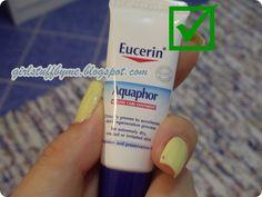#aquaphor #eucerin