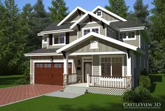 Exterior Architectural Renderings From CastleView3D.com