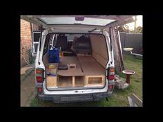 Mitsubishi Express Micro Camper Campervan Conversion - YouTube