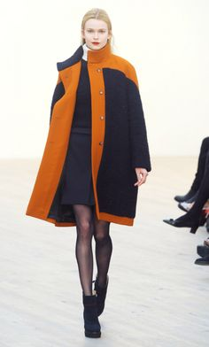 Pringle of Scotland presented its clean and streamlined F/W 2012