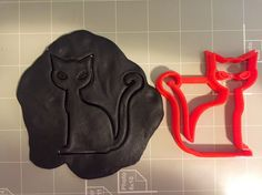 """If you have a custom shape or logos in mind please contact us for your unique custom orders.This listing is for CatCookie Cutter. Great size to make cookies for any fun occasions. The depth are about 1/2"""" deep enough to make thick size cookies.All cookie cutters are made printed by a quality high resolution 70 microns 3D printer at the time of order. They are made out of PLA plastic which is biodegradable and good for the environment.Most cookie cutters will probably be blue but color may…"""