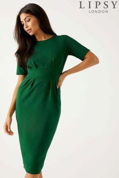 L2018 Buy Lipsy Pleated Cap Sleeve Bodycon Dress from Next Poland