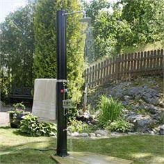 Udebruser - Sunny 40 liter  Giver varmt vand i op til 20 min. på en solrig dag