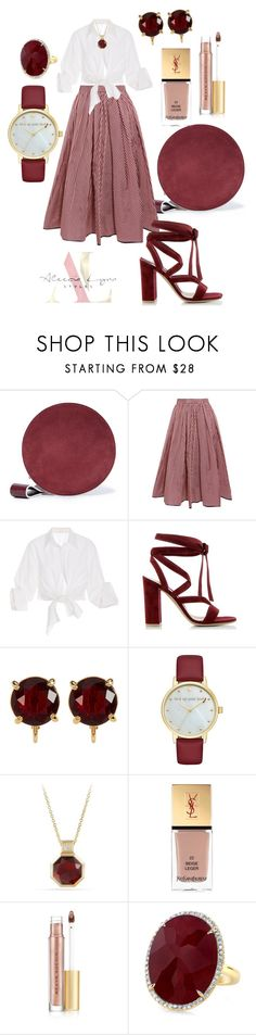 """Working women Wednesday!!!"" by aleecialynnstyles ❤ liked on Polyvore featuring Diane Von Furstenberg, Tome, Johanna Ortiz, Gianvito Rossi, Carolee, Kate Spade, David Yurman, Yves Saint Laurent, Kevyn Aucoin and Anne Sisteron"