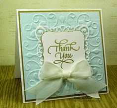 Thank you card and Blog Hop Winner!