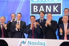 Saxo Bank rings the Nasdaq Opening Bell! $SAX