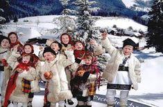 Romanian children wish merry Christmas 🎁 Winter Time, Romania, Merry Christmas, Costumes, Sign, Traditional, Children, Google, Navidad